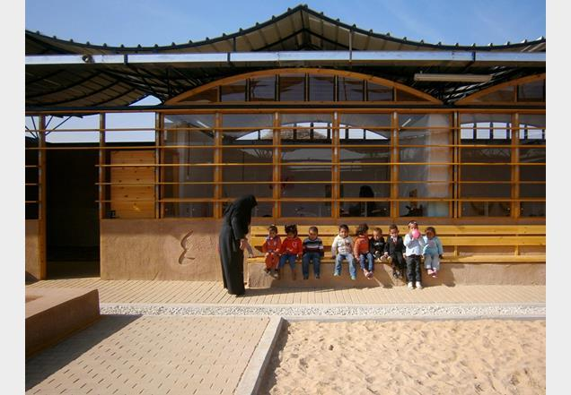 Before: Children's centre in Gaza by ARCò and MCA Mario Cucinella Architects